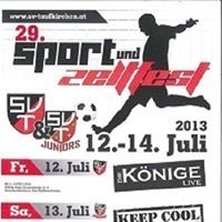 29. Taufkirchner Sport u. Zeltfest