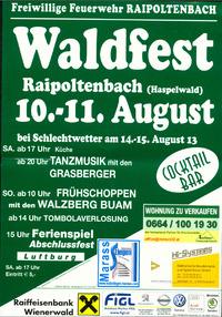 Waldfest der FF-Raipoltenbach