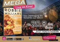 Robbie Williams Live-Konzertübertragung