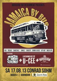 Jamaica By Bus feat. Mortal Kombat Sound, U-Cee und Invasion Sound@Conrad Sohm