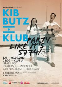 Kibbutz Klub: Party like it's 5774!@Club U