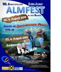 10. Almfest in der Ramöd@Ramöd, Euratsfeld