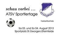 ATSV Sportlertage 2013@Sportplatz Atsv St.Georgen Am Steinfeld