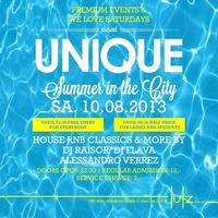 UNIQUE Summer in the City@lutz - der club