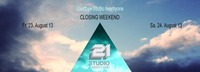 closing weekend - Goodbye Studio 21