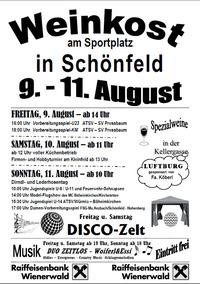 Weinkost  des ATSV Schönfeld - 2013@ATSV Schönfeld/Tausendblum