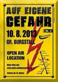 Auf eigene Gefahr Party@Groß Burgstall