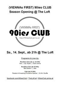 90ies Club: The Loft Season Opening