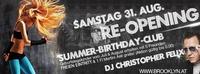 Re-Opening / Summer-Birthday-Club@Brooklyn
