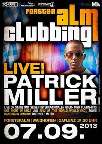 Patrick Miller live