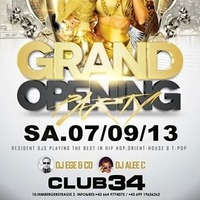 Grand Opening Party @Club 34