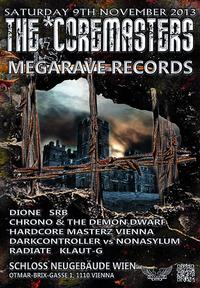The *Coremasters vs. Megarave Records@Schloß Neugebäude