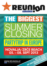 Reunion - The Biggest Summer Closing Partytrip In Europe