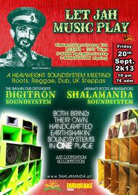 Let Jah Music Play #3 - Digitron Soundsystem@Alte Mann Backstube