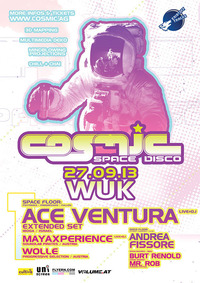 Cosmic Winter Opening mit Ace Ventura