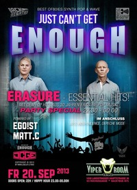 Just cant get Enough - Erasure - Special
