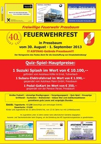 Feuerwehrfest Pressbaum@Asfinag Pressbaum (Hauptstraße 115, 3021 Pressbaum)