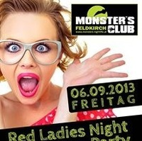 Red Ladies Night vs Corona Party@Monsters Clubs