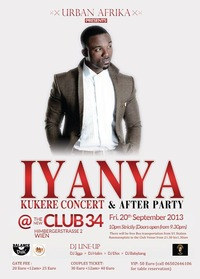 Iyanya Kukere Concert + Afterparty