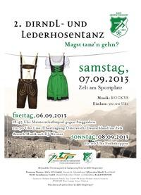 2. Dirndl- und Lederhosentanz@Sportplatz Oberpetersdorf