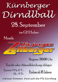 Kürnberger Dirndlball