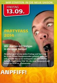 Anpfiff Partyfass 2014
