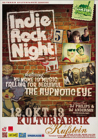 Indie Rock Night V@Kulturfabrik Kufstein
