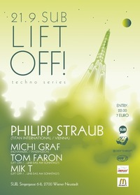 Lift off! techno series