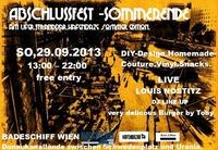 Abschlussfest Hafenbazar Sommer Edition - Am.ufer@Badeschiff
