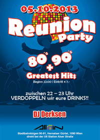 Reunion - Party | 80's | 90's + Greatest Hits