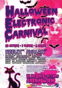 Halloween- Electronic Carnival mit Neelix, Avalon u. Taliesin