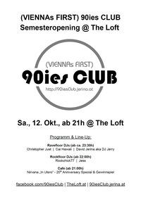 90ies Club: Semesteropening