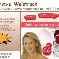 Zahnaufhellung und Bräunungsdusche Party@Bräunungsoase