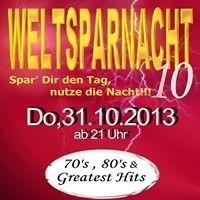 Die WELTSPARNACHT das Weltspartags Clubbing im Palais Eschenbach