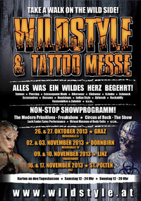 Wildstyle & Tattoo Messe - St. Pölten