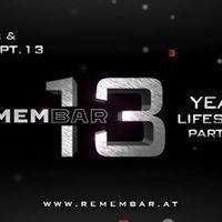 13 Jahre - Remembar