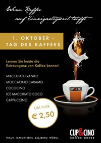 Tag des Kaffees@Cup & Cino