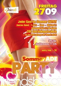 Sommer Ade party