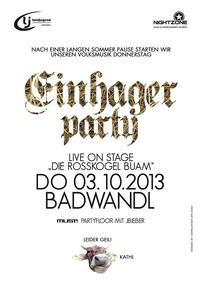 Einhager Party - Badwandl
