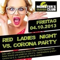 Red Ladies Night vs. Corona Party