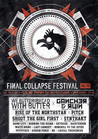 Final Collapse Fest Vol.7  Club Max Brixen  Bressanone Bz@Club Max