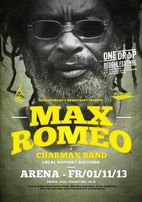 Max Romeo - Live at One Drop Reggae Festival 2013