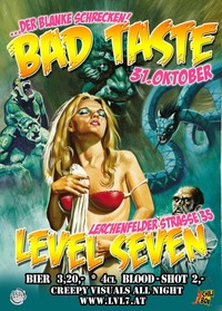 Bad Taste Halloween Party@LVL7