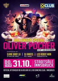 Oliver Pocher DJ-Set + live Entertainment - Welle1 Halloween Special