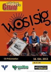 Wosisig CD-Präsentation@Cafeti Club