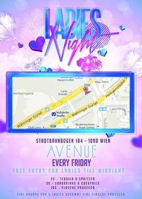 Ladies Night@Club Avenue