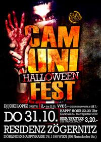 Cam Unifest Halloweenparty