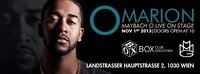 Bumaye Special-Omarion Live on Stage---Maybach Music@BOX Vienna