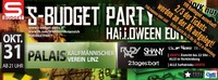 S-Budget Party - Halloweenparty Edition
