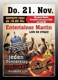 Entertainer Martin Live@Excalibur